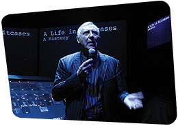Audiovisual performance by Peter Greenaway at MIFF Media Forum 2008